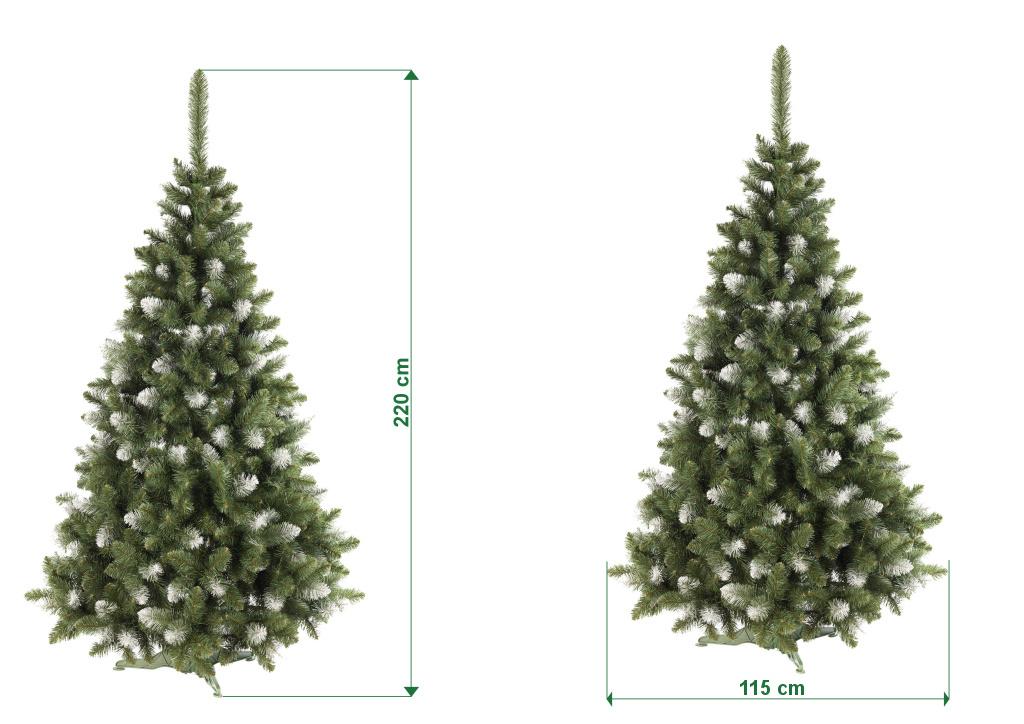 umely-vanocni-stromecek-borovice-PAULA-s-bilymi-konci-rozmery-220cm-130cm-stromeckov