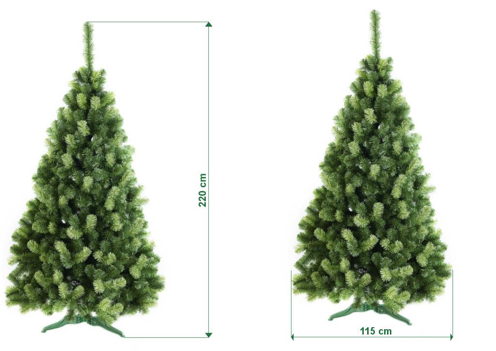 umely-vanocni-stromecek-jedle-ADRIA-rozmery-220cm-130xm-stromeckov