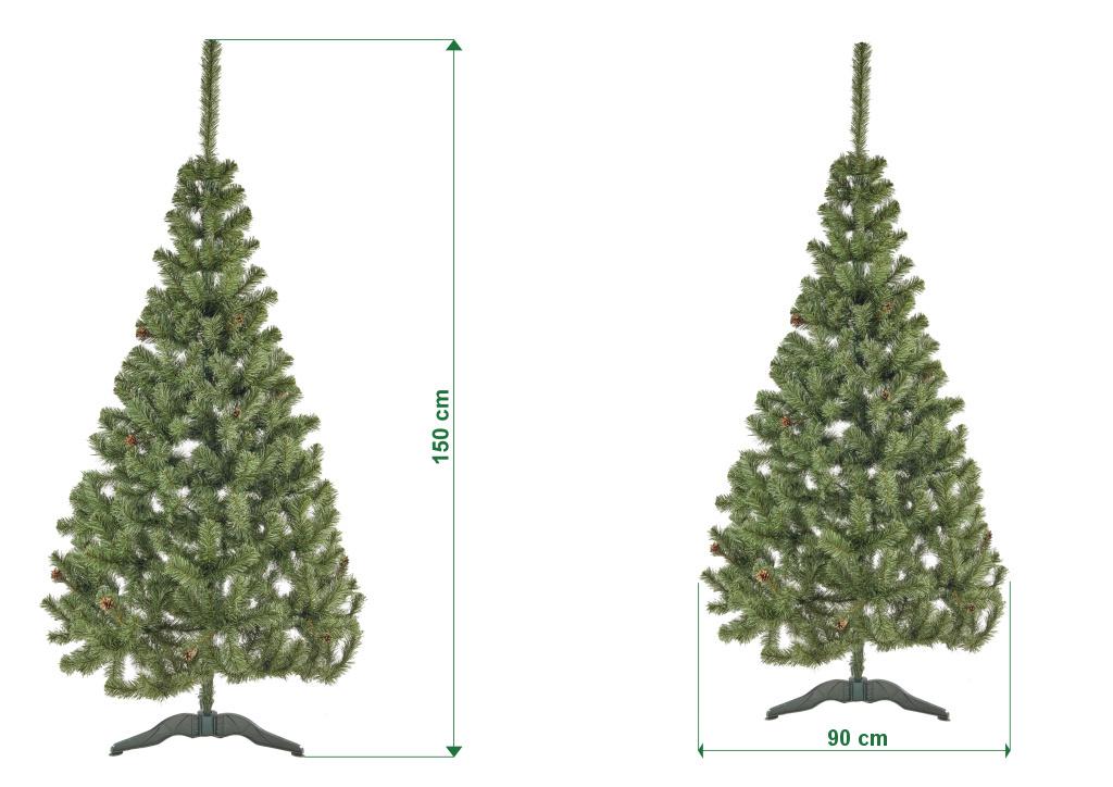 umely-vanocni-stromecek-jedle-ELA-s-siskami-rozmery-150cm-100cm-stromeckov