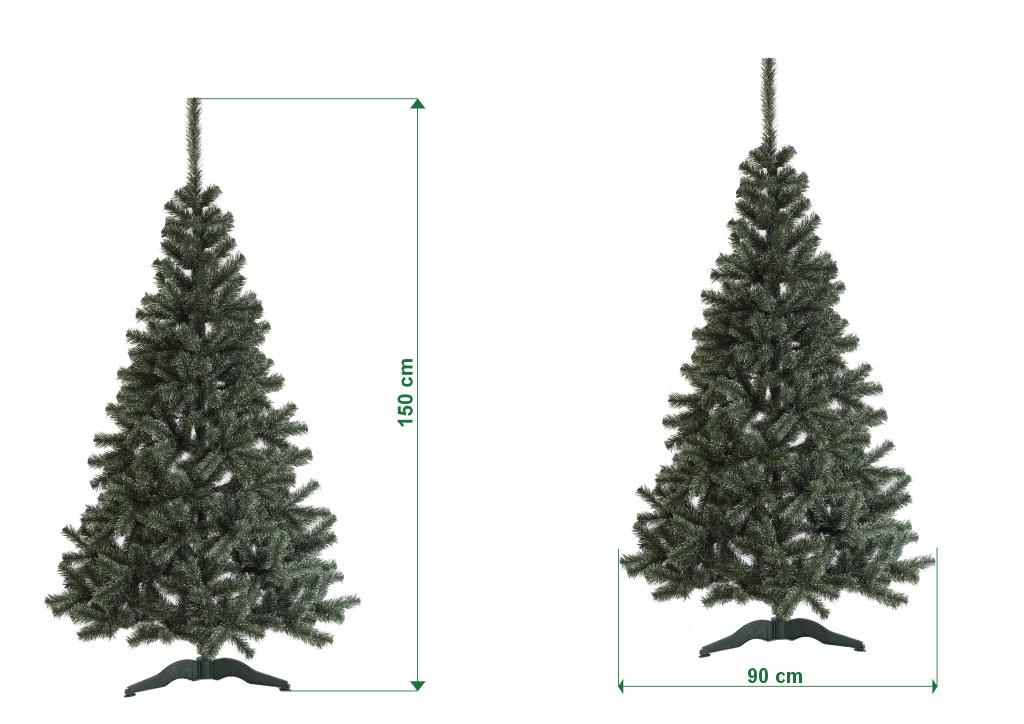 umely-vanocni-stromecek-jedle-LUX-s-bilymi-konci-rozmery-150cm-100cm-stromeckov