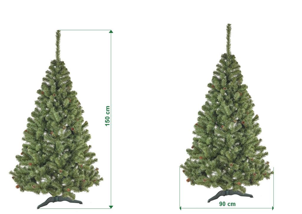 umely-vanocni-stromecek-jedle-NELA-s-siskami-rozmery-150cm-105cm-stromeckov