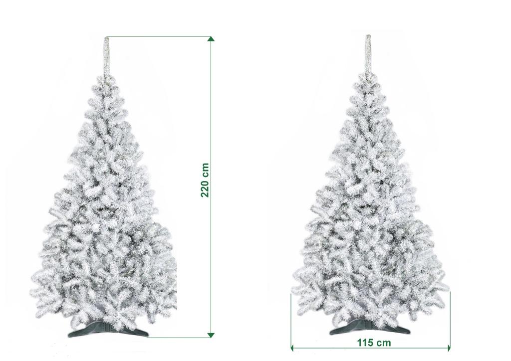 umely-vanocni-stromecek-jedle-NELA-zasnezena-rozmery-220cm-115cm-stromeckov