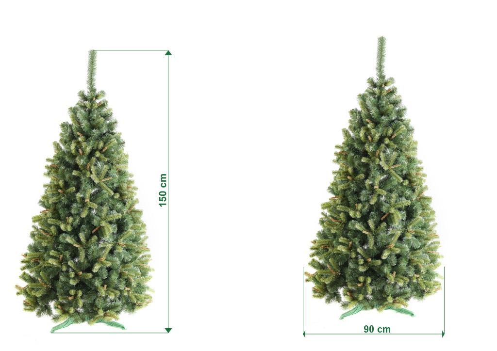 umely-vanocni-stromecek-jedle-RAVIE-rozmery-150cm-105cm-stromeckov