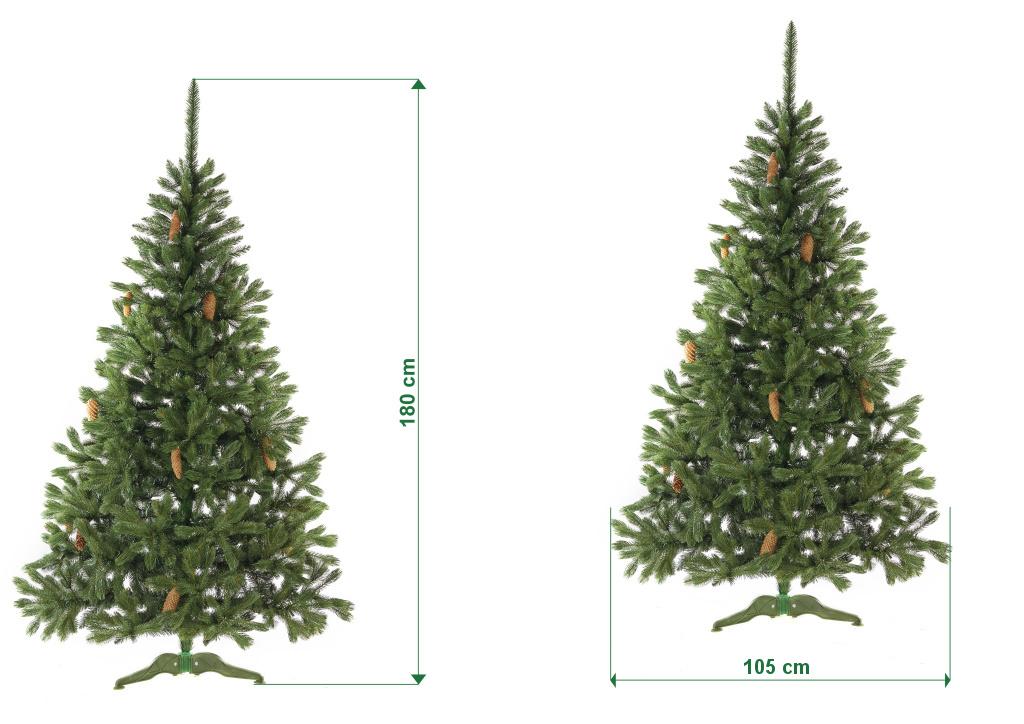 umely-vanocni-stromecek-smrk-ELEGAN-LUX-s-odrosty-rozmery-180cm-115cm-stromeckov